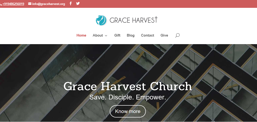 Welcome to the Online Home of Grace Harvest Church